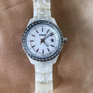 FOSSIL Mother of Pearl Watch